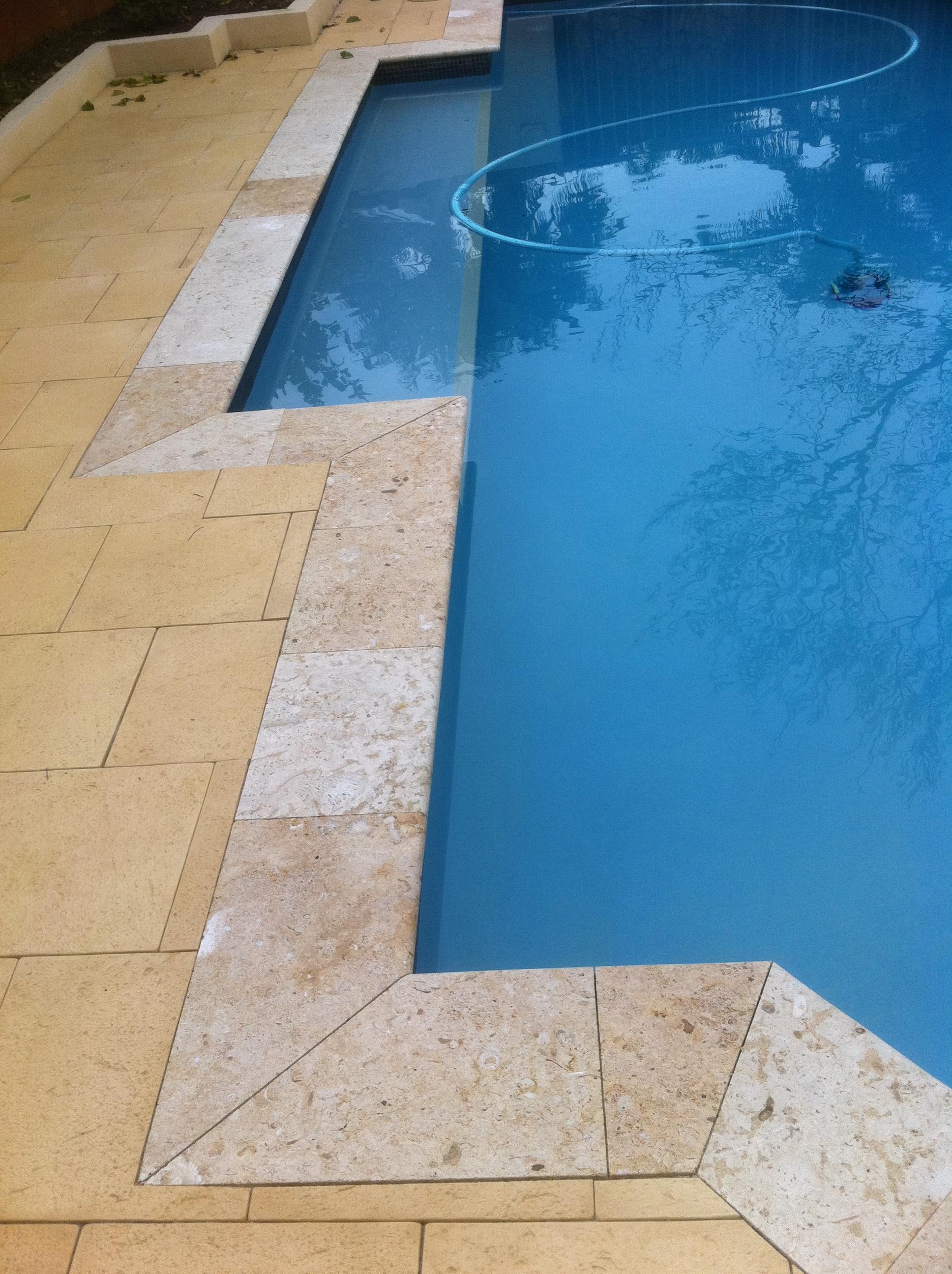 Pool Paving & Bull-Nose Coping - Pool Repairs Perth WA