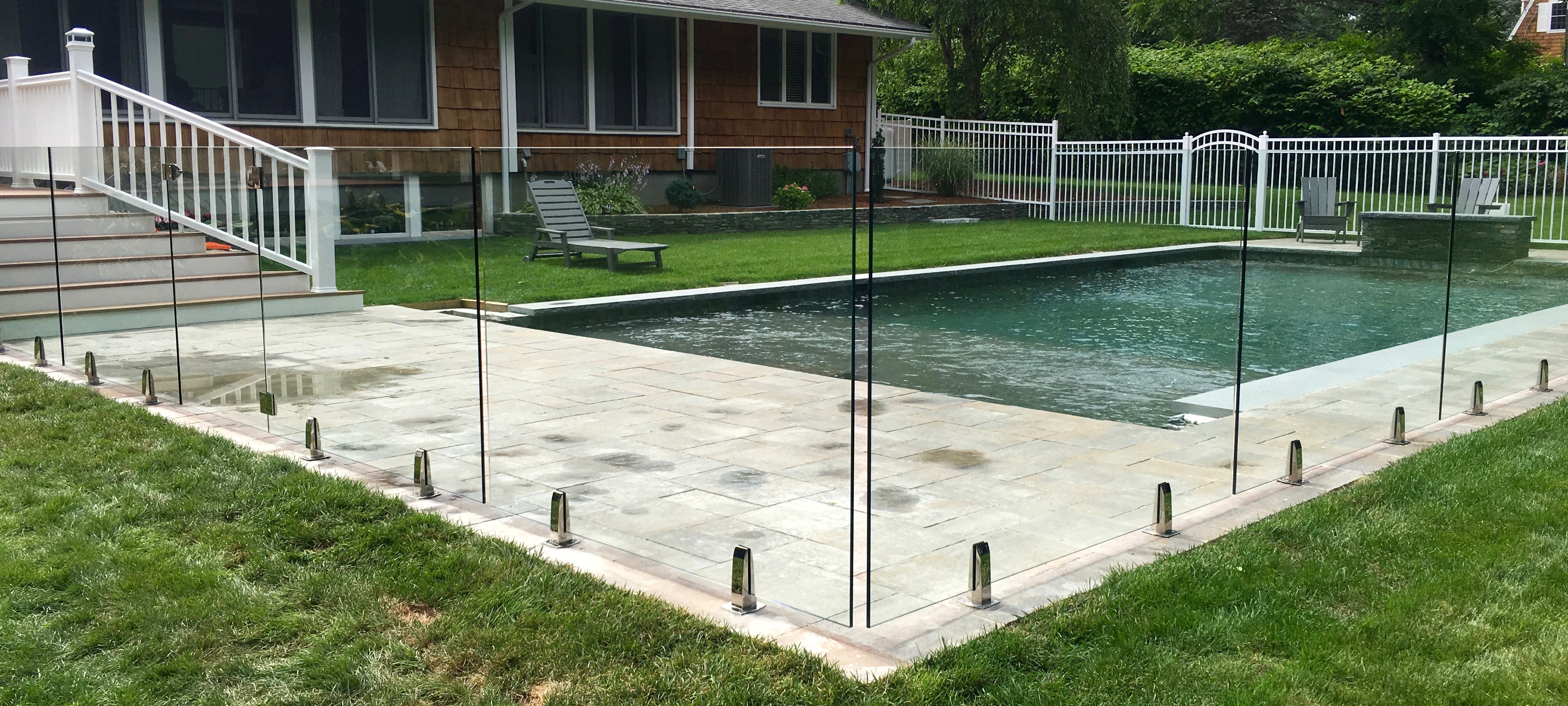 Frameless Glass Pool Fence 2 Pool Repairs Perth Wa